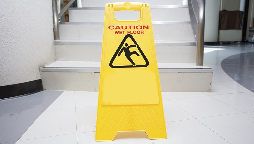 Slips, Trips & Falls account for many workplace injuries each year