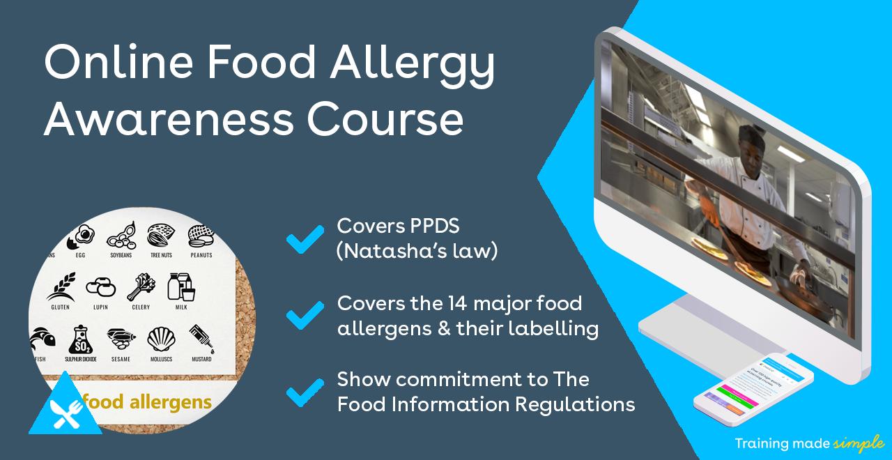 Online Food Allergens Training Course