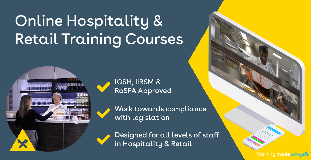 Essential training for hospitality and retail staff