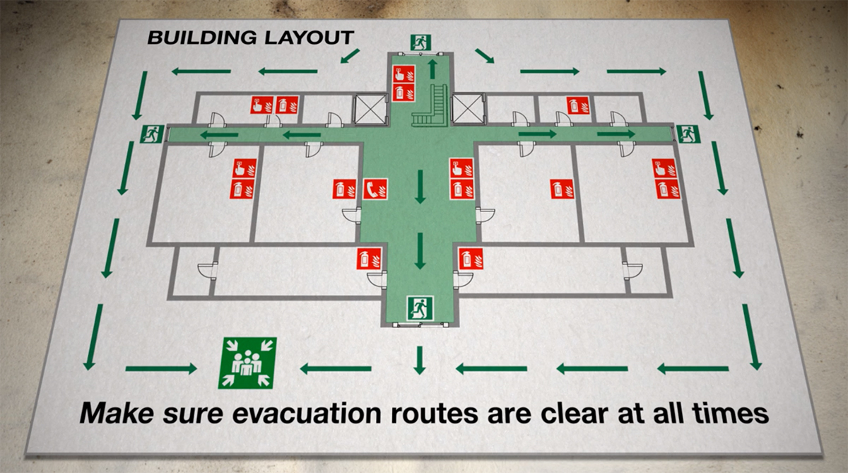 How to carry out a fire drill in schools