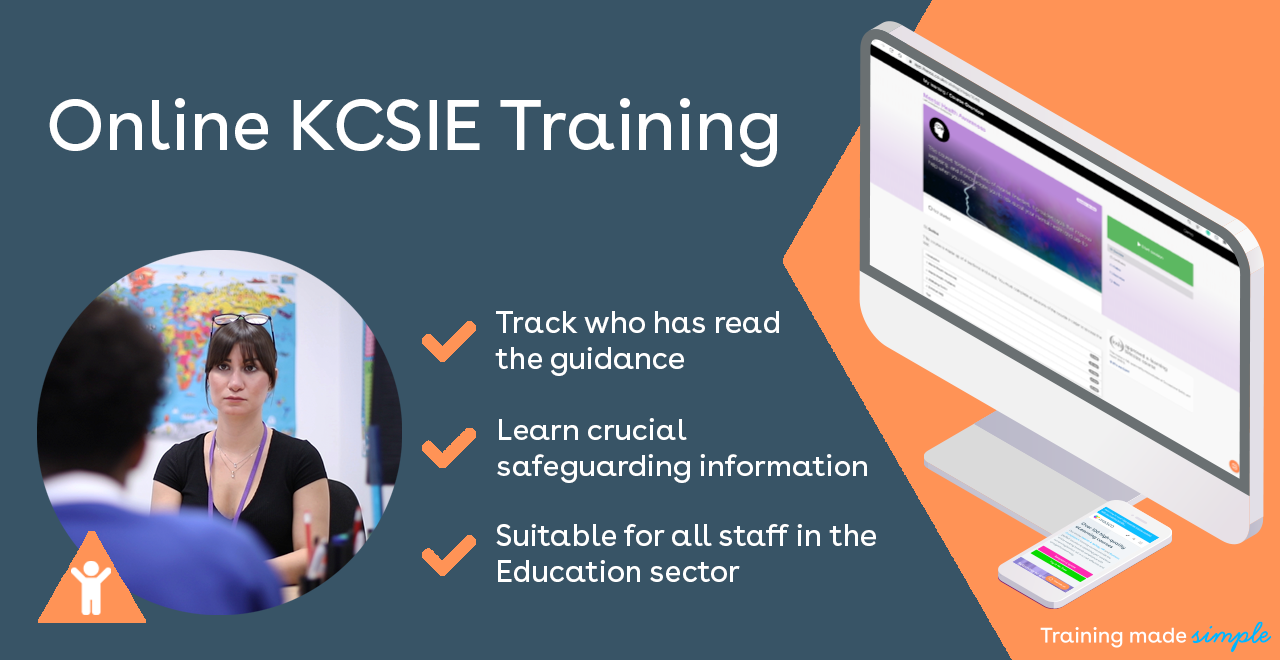Online KCSIE Training Promo Image