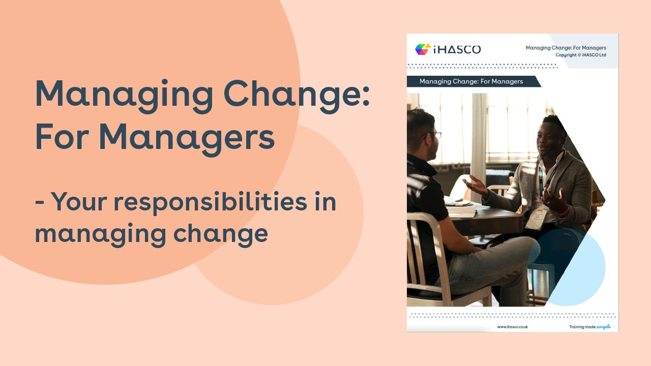 Managing Change White Paper download
