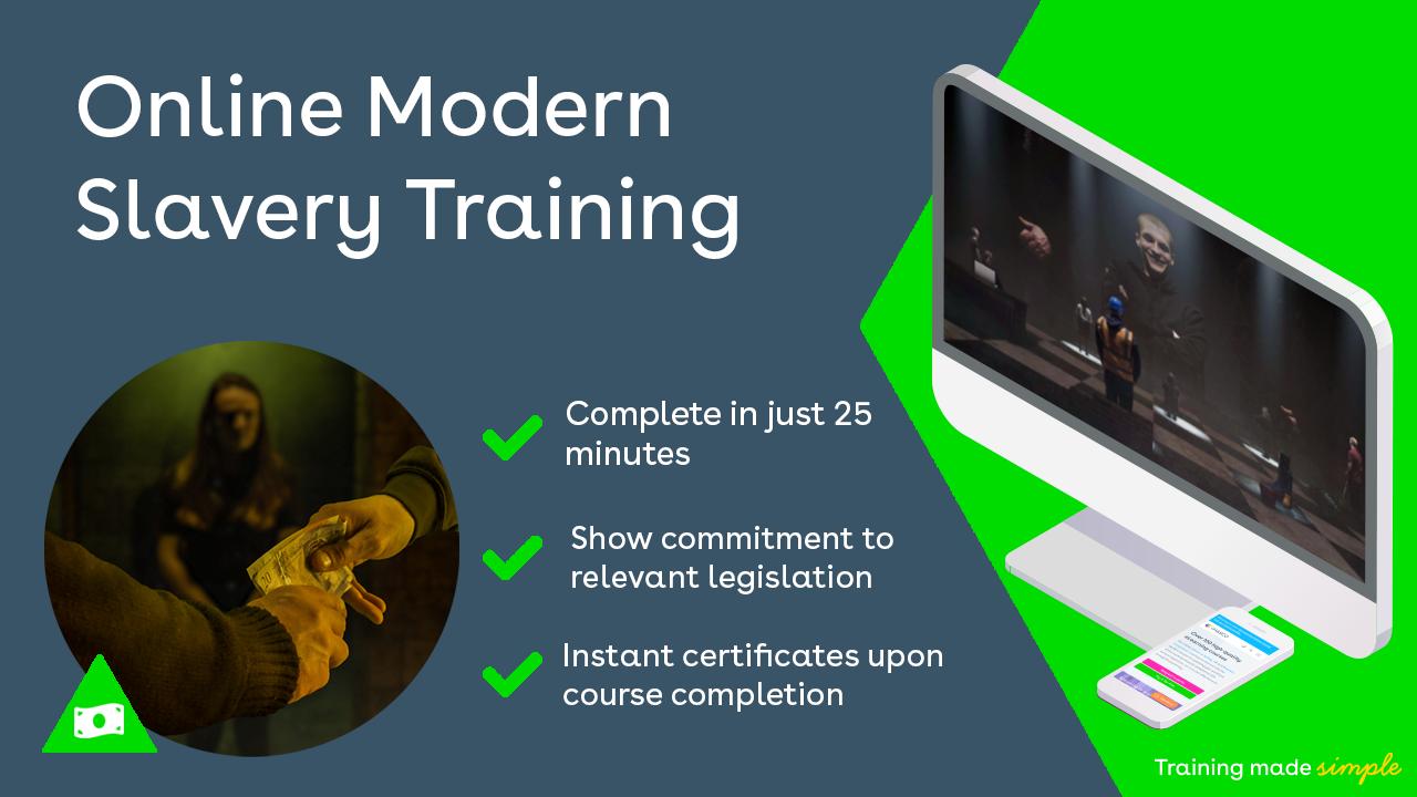 Online Modern Slavery Training