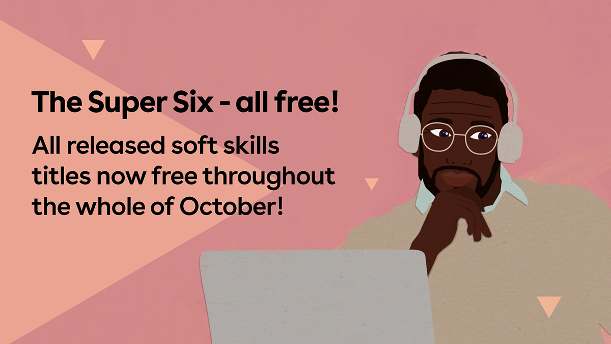 October's free soft skills courses!