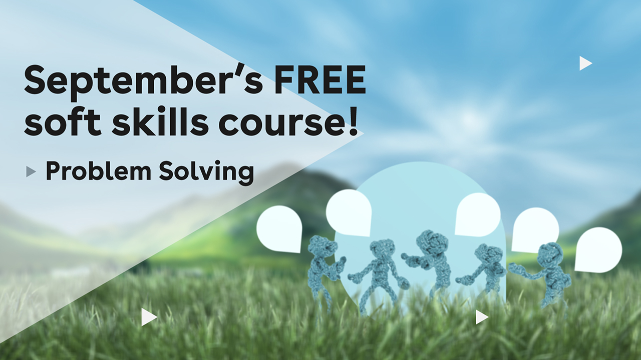 Septembers free soft skill course