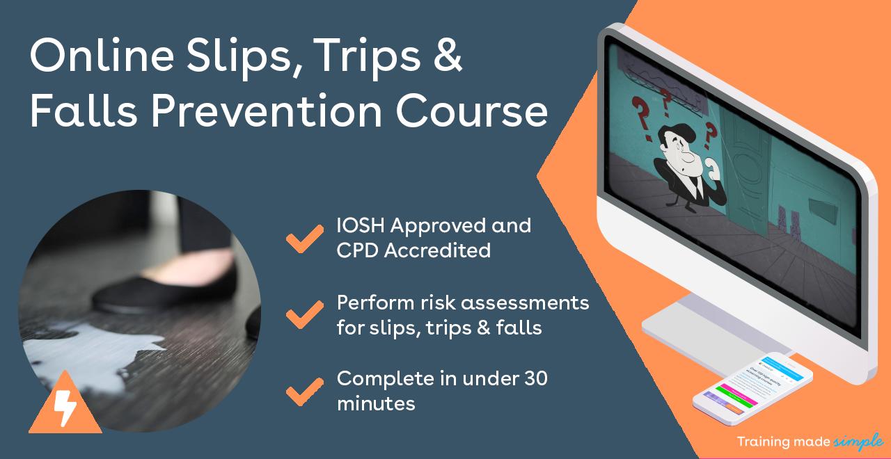 Slips, Trips and Falls Training from iHASCO