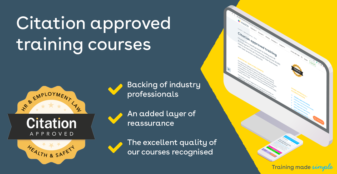 Citation approved training library