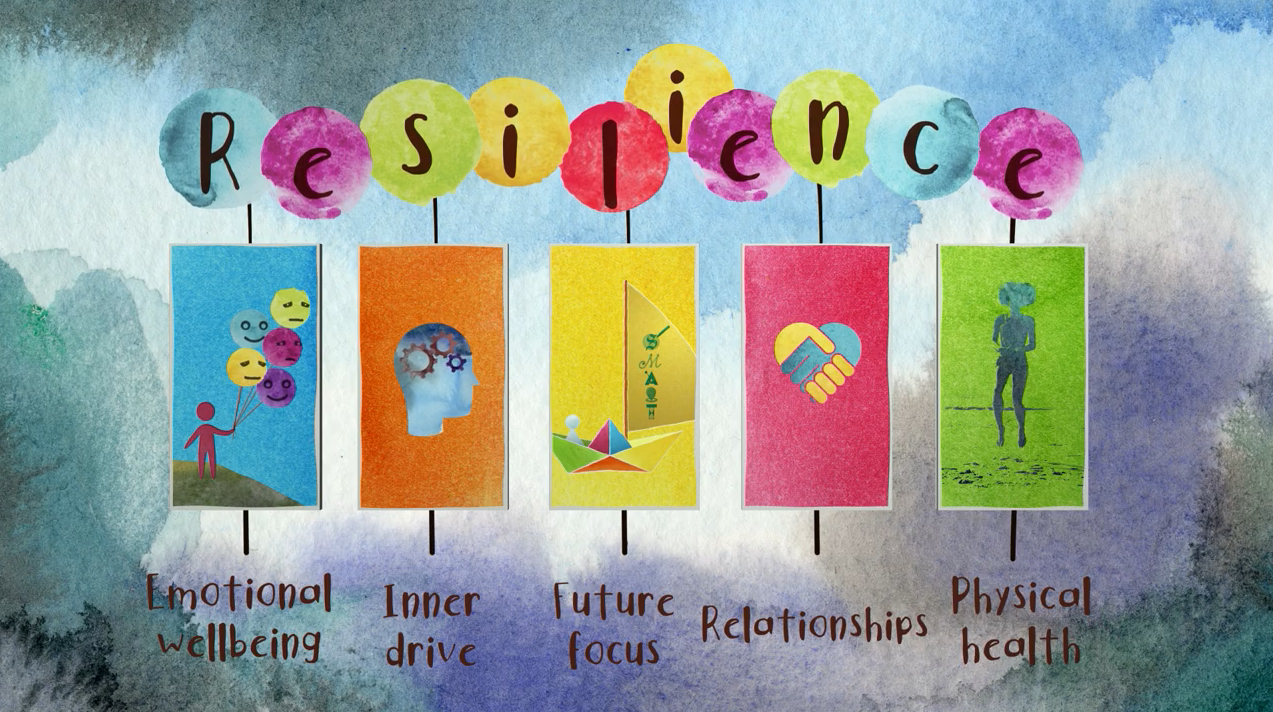 The 5 Pillars of Resilience youtube thumbnail