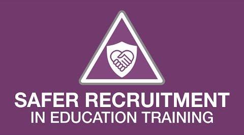 Education Safer Recruitment youtube thumbnail