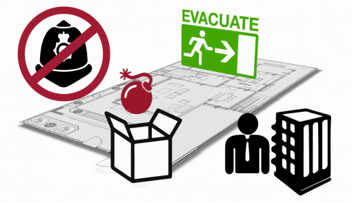 Evacuation and searches are a vital part of keeping people safe during a bomb threat
