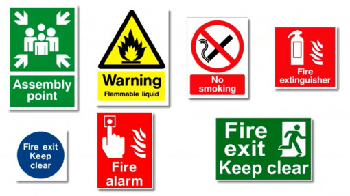 Fire Awareness in Construction. Chapter 2: Fire Signage Preview Image