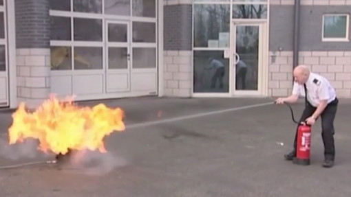 Fire Warden Training in Construction. Chapter 4: Fire Extinguishers and Classes Preview Image