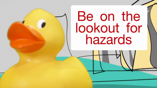 Section 2 of our Health and Safety training for homeworkers looks at common hazards