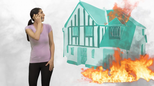 Homeworker looking very distressed - In section 4 we look at what to do when things go wrong