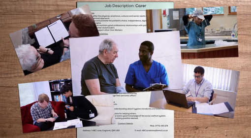 A screenshot of section 1 of our Understand Your Role in Care Course