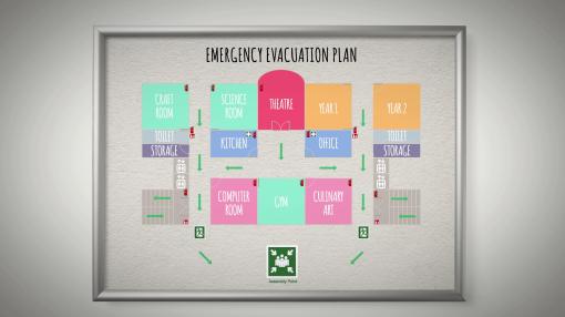 A school emergency plan
