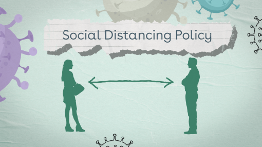 Social distancing policy example
