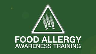 Food allergy awareness training youtube thumbnail