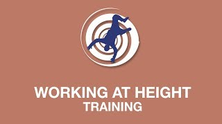 Working at height training youtube thumbnail