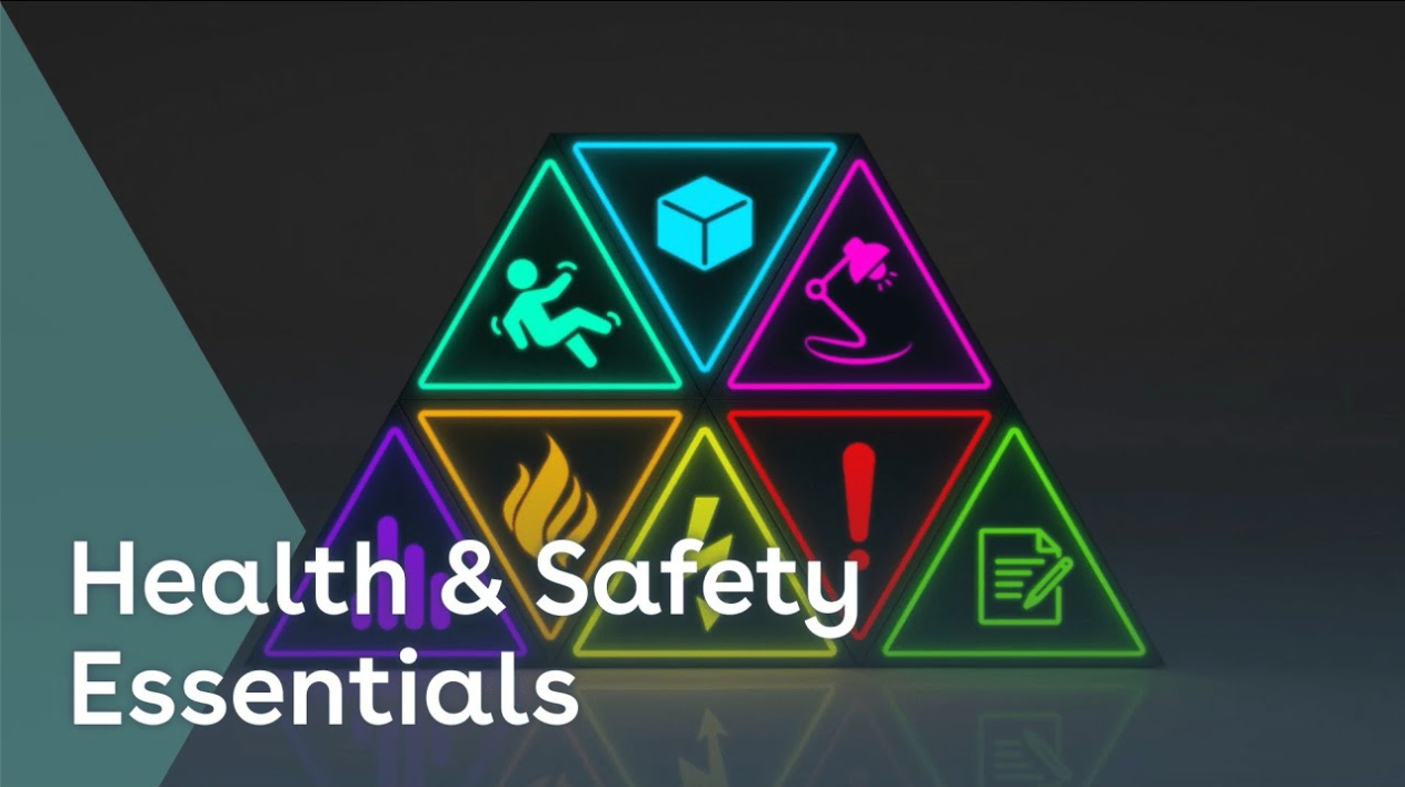 Health & safety essentials training youtube thumbnail