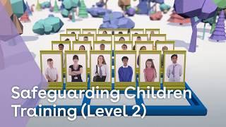 Safeguarding children training youtube thumbnail