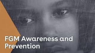FGM awareness training youtube thumbnail