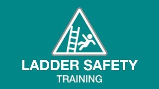 Ladder safety training youtube thumbnail