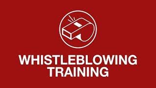 Whistleblowing training youtube thumbnail