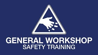 General workshop safety youtube thumbnail
