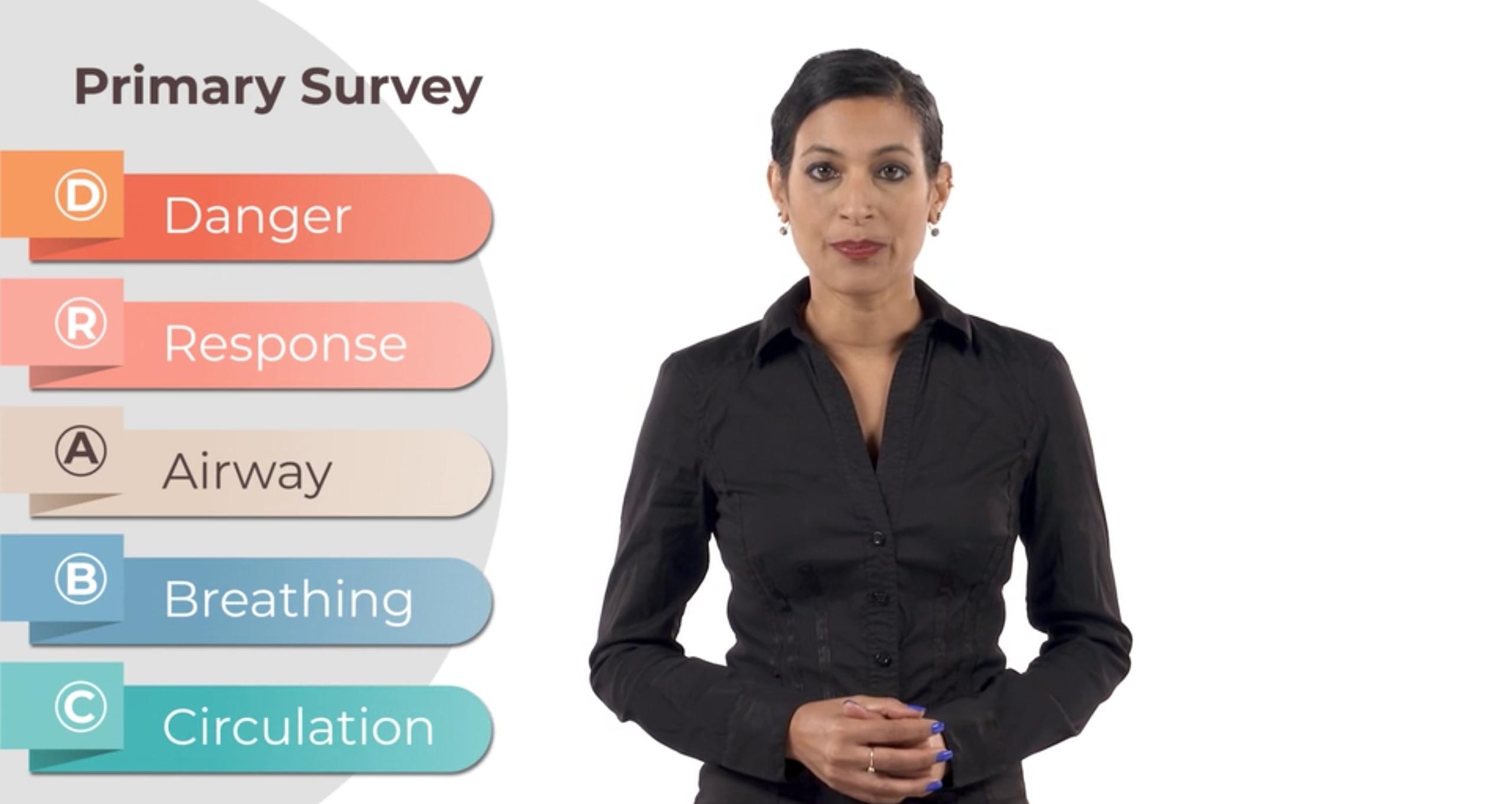 How to do the primary survey youtube thumbnail