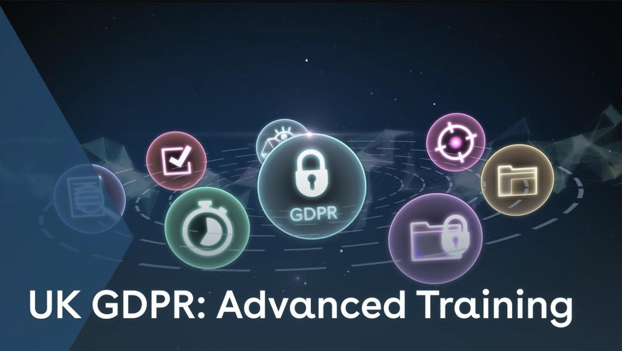 UK GDPR Advanced Training youtube thumbnail