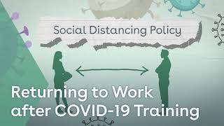 Returning to Work (COVID-19) Training youtube thumbnail