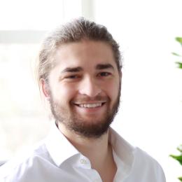 Portrait of Aaron Ridout
