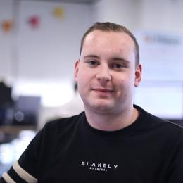 Portrait of Alex McMahon