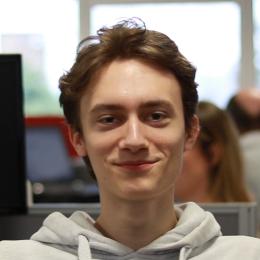 Portrait of Lucas Tomblin
